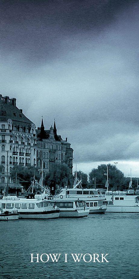 STOCKHOLM BLUE